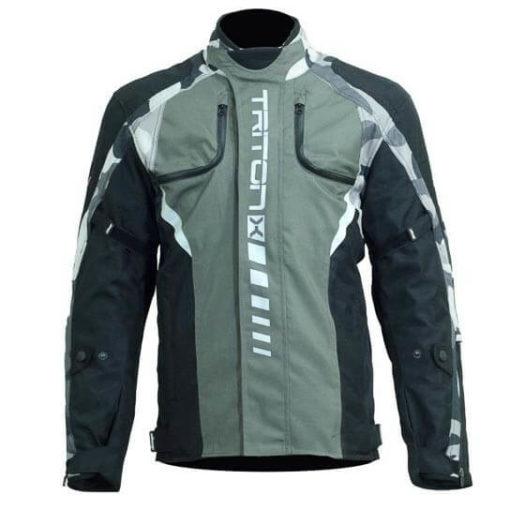 DSG Triton X Black Grey Camo Riding Jackets 1