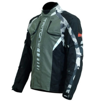 DSG Triton X Black Grey Camo Riding Jackets 2