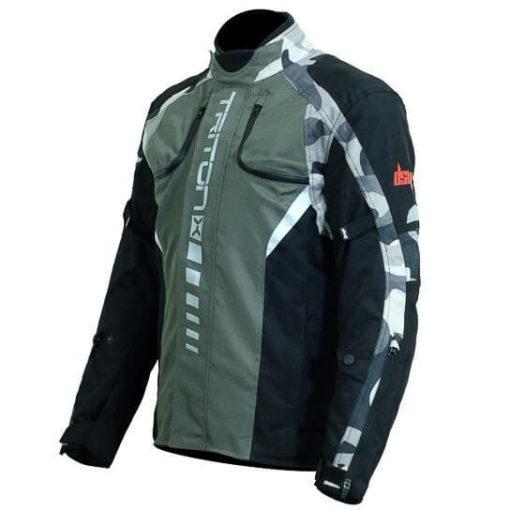 DSG Triton X Black Grey Camo Riding Jackets 2