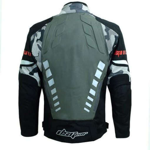 DSG Triton X Black Grey Camo Riding Jackets 3