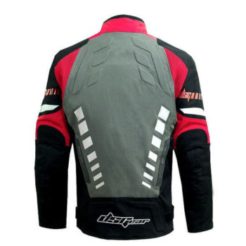 DSG Triton X Black Grey Red Riding Jackets 2