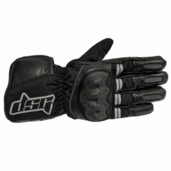DSG Triton X Black Riding Gloves