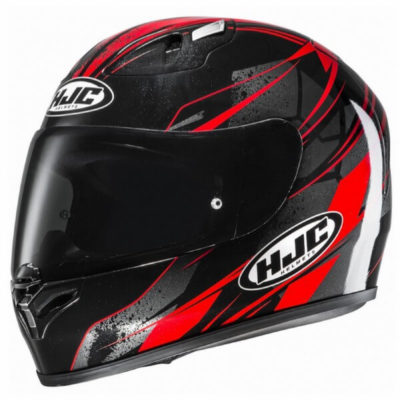 Hjc Fg 17 Toba Mc1 Gloss Red Full Face Helmet 1