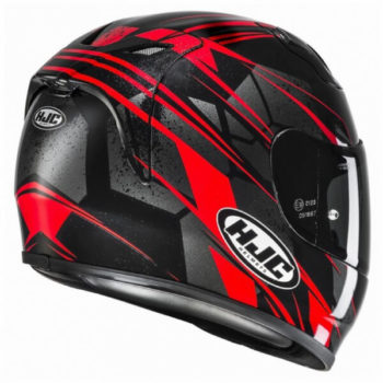 Hjc Fg 17 Toba Mc1 Gloss Red Full Face Helmet 2