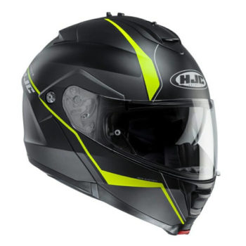 Hjc Is Max Ii Mine Mc4Hsf Gloss Black Yellow Full Face Helmet