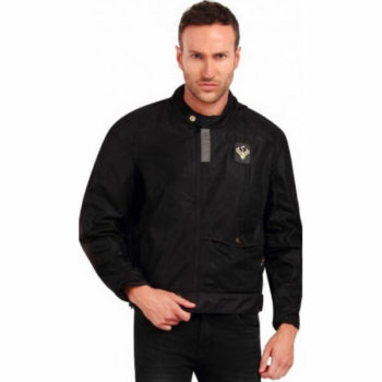 Leiidor Arete Plush Black Jacket 1