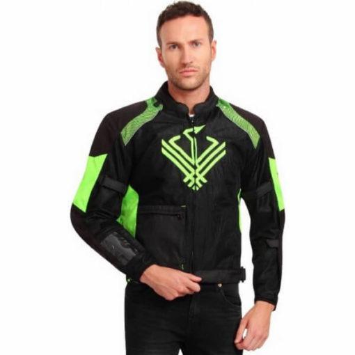 Leiidor Grandstand Black Green Jacket 1