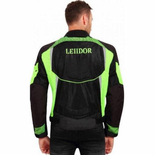 Leiidor Grandstand Black Green Jacket 2