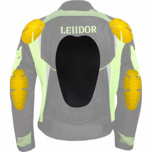 Leiidor Grandstand Black Green Jacket 3