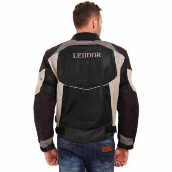 Leiidor Grandstand Black Grey Jacket 2