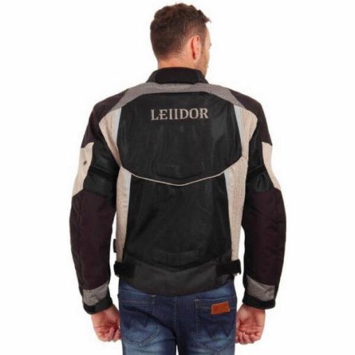 Leiidor Grandstand Black Grey Jacket 2