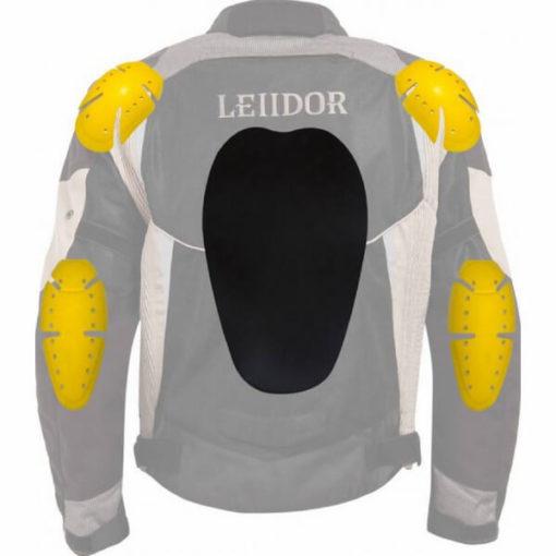 Leiidor Grandstand Black Grey Jacket 3