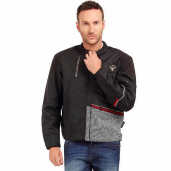 Leiidor Greenfold Black White Jacket 1