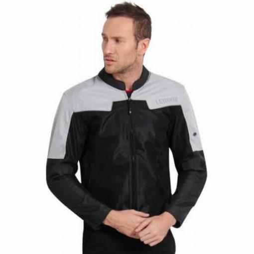 Leiidor Vauxhall Black Grey Jacket 1