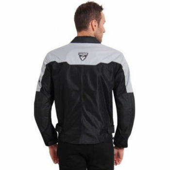 Leiidor Vauxhall Black Grey Jacket 2