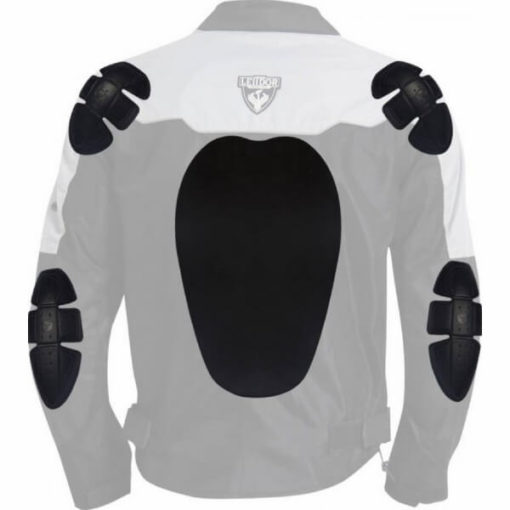 Leiidor Vauxhall Black Grey Jacket 3