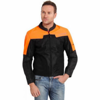 Leiidor Vauxhall Black Orange Jacket 1