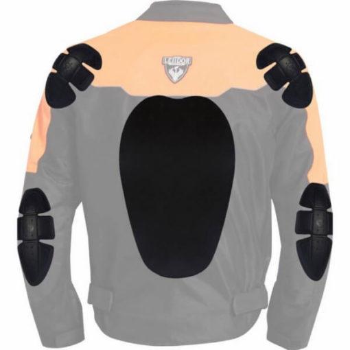 Leiidor Vauxhall Black Orange Jacket 3