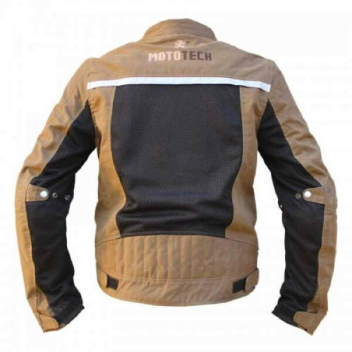 Mototech Contour Air Brown Riding Jacket 2