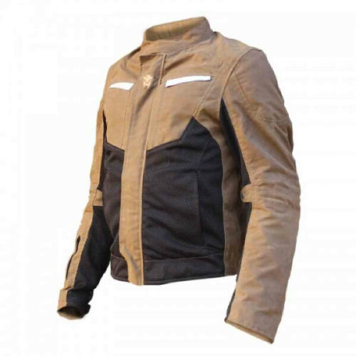 Mototech Contour Air Brown Riding Jacket 3