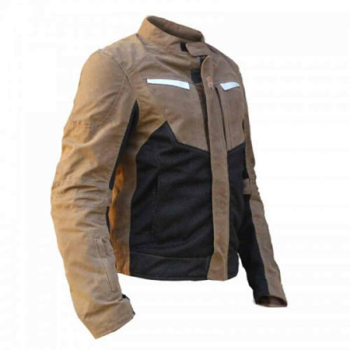 Mototech Contour Air Brown Riding Jacket 4