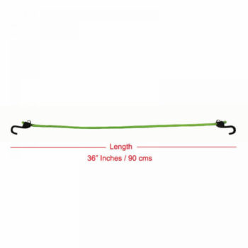 Mototech Grappler Bungee Tie Down 36 Inches Green 2