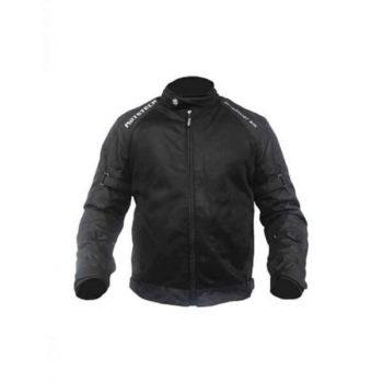 Mototech Scrambler Air Black Motorcycle Jacket 1