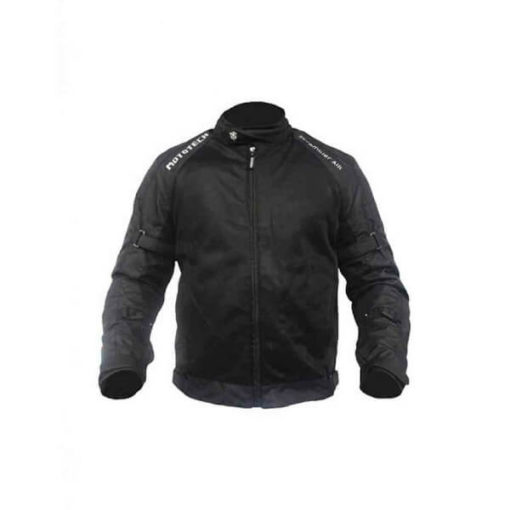 Mototech Scrambler Air Black Motorcycle Jacket 1