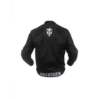 Mototech Scrambler Air Black Motorcycle Jacket 2