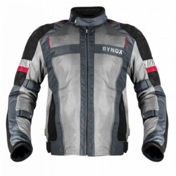Rynox Storm Evo L2 Knight Grey Riding Jacket 1