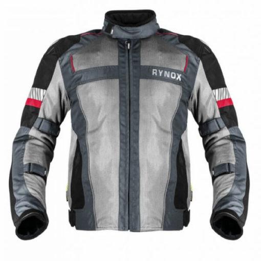 Rynox Storm Evo L2 Knight Grey Riding Jacket 1