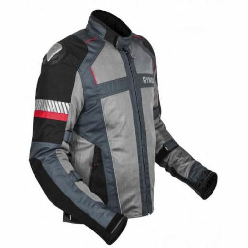 Rynox Storm Evo L2 Knight Grey Riding Jacket 3