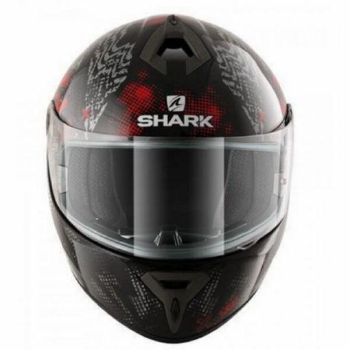 Shark S600 Pinlock Play Gloss Full Face Black Grey Red Full Face Helmet1