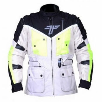 Tarmac Expedition White Flouroscent Yellow Jacket 1