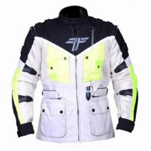 Tarmac Expedition White Flouroscent Yellow Jacket 1