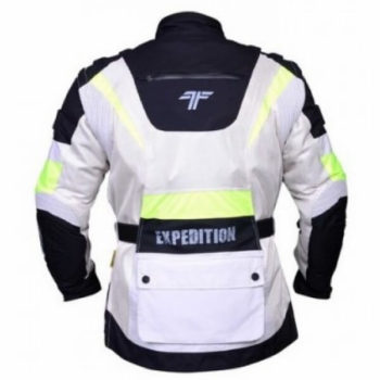 Tarmac Expedition White Flouroscent Yellow Jacket 2