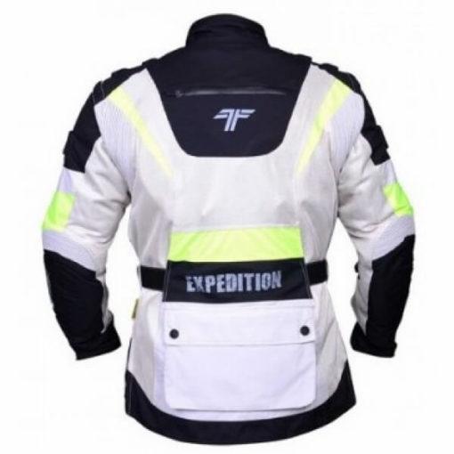 Tarmac Expedition White Flouroscent Yellow Jacket 2