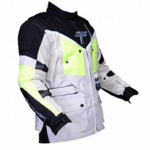 Tarmac Expedition White Flouroscent Yellow Jacket 3