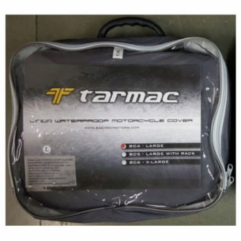 Tarmac Lined Waterproof Motorcycle Cover L