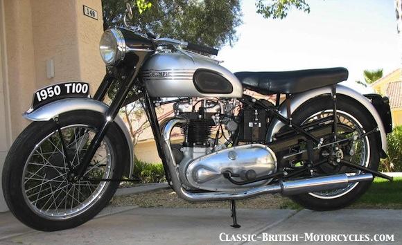 Triumph Bonneville 1950