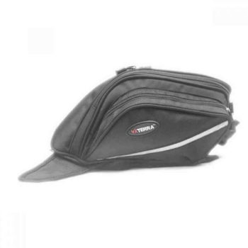 Viaterra Oxus Motorcycle Black Tankbag 1