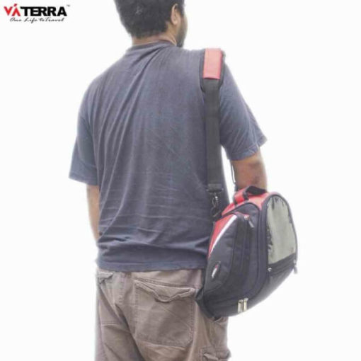 Viaterra Oxus Motorcycle Black Tankbag 4