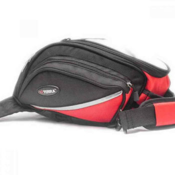 Viaterra Oxus Motorcycle Red Tankbag 1