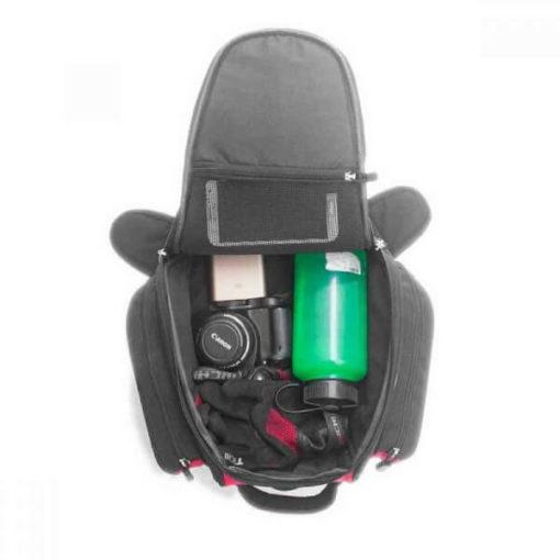 Viaterra Oxus Motorcycle Red Tankbag 2