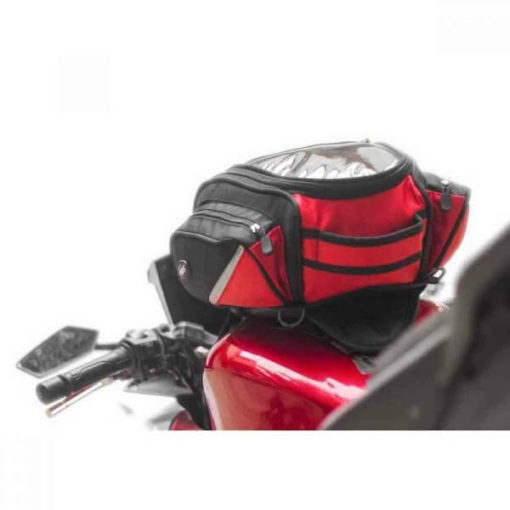 Viaterra Oxus Motorcycle Red Tankbag 3