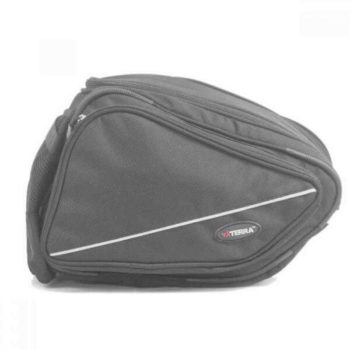 Viaterra Rapide Motorcycle Black Saddlebags 1
