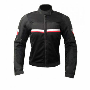 Xdi Motoliza Ladies Black Red Jacket 1