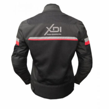 Xdi Motoliza Ladies Black Red Jacket 2