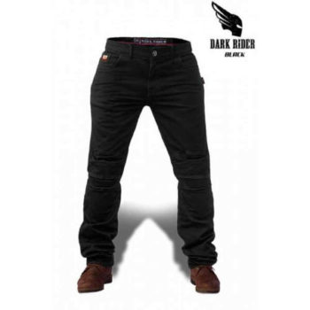 Zeus Dark Rider Motorcycle Black Jeans 1