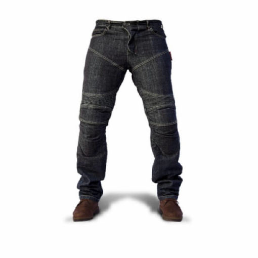 Zeus Dark Rider Motorcycle Blue Jeans 1